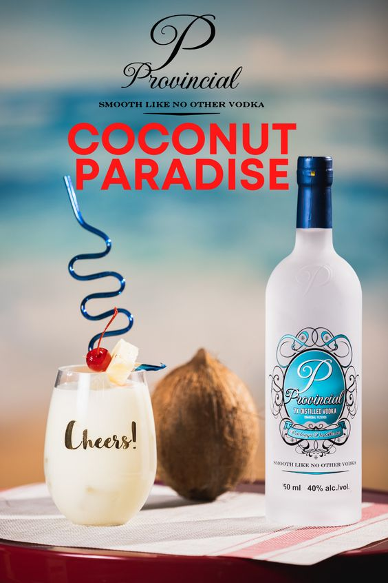 Bevrage with coconut