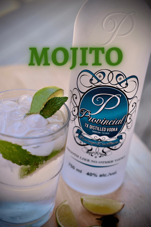 Vodka Mojito with Lime