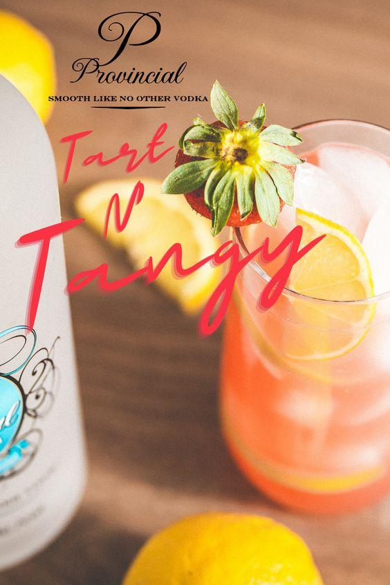 Beverage served with Lemons